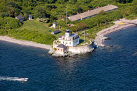 Rose Island Lighthouse, RI Photo John A Ferrante